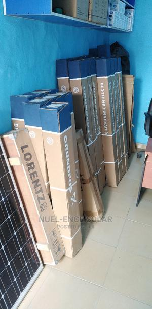 Solar Pump 2.5HP Grundfos Submersible. 250 Meters   Solar Energy for sale in Lagos State, Ojo