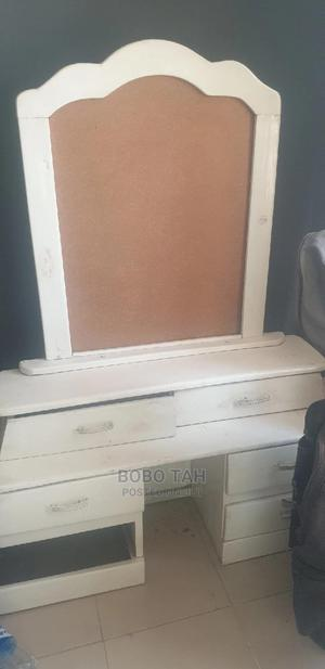 Wooden 6x6 Bed Frame With Dressing Mirror | Furniture for sale in Abuja (FCT) State, Kado