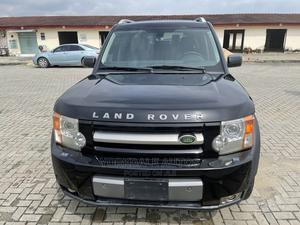 Land Rover LR3 2008 V8 SE AWD Black | Cars for sale in Lagos State, Ajah