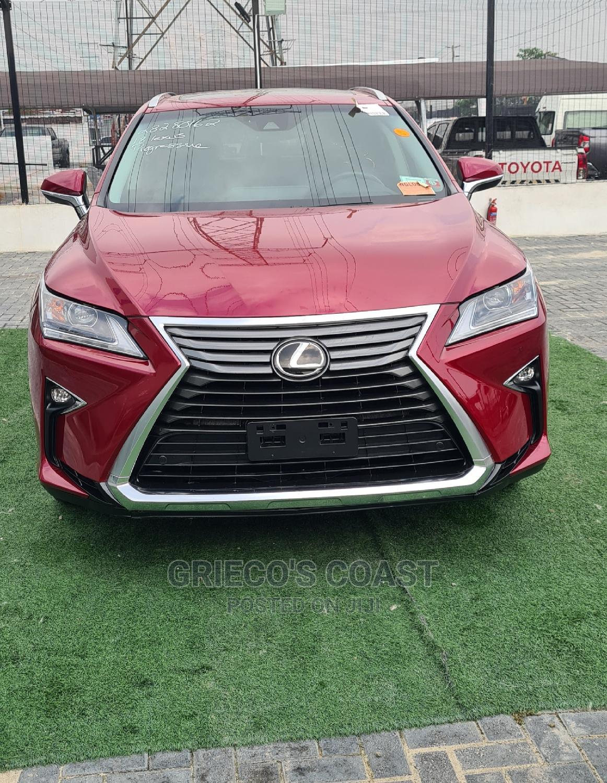 Lexus RX 2018 350 AWD Red