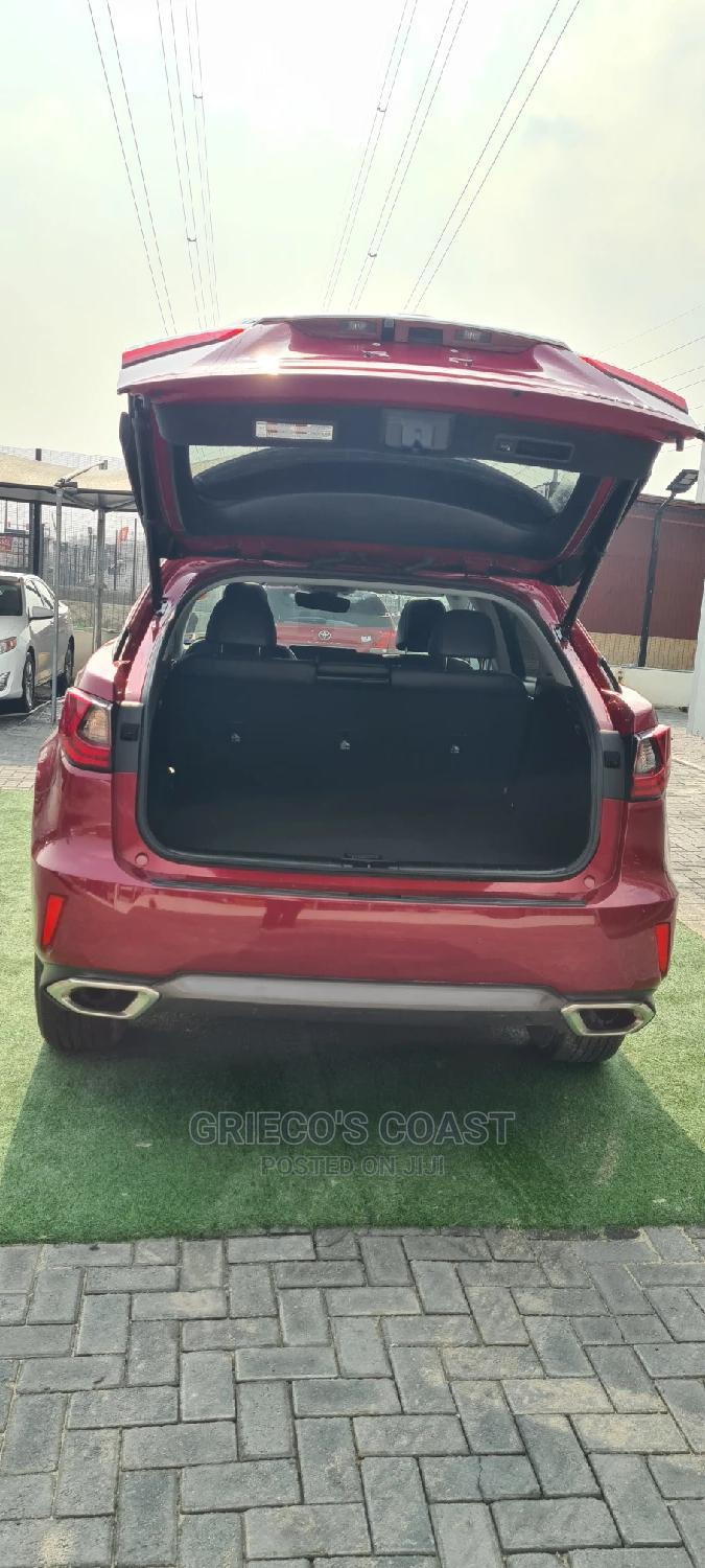 Lexus RX 2018 350 AWD Red   Cars for sale in Lekki, Lagos State, Nigeria