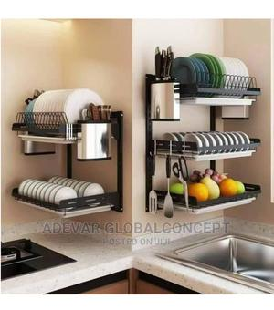 3 Tier/Layers Wall Mount Dish Drainer / Plate Rack   Kitchen & Dining for sale in Lagos State, Lekki