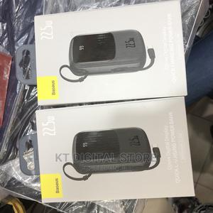 Baseus Qpow Digital Display Power Bank 20000mah (22.5W)   Accessories for Mobile Phones & Tablets for sale in Lagos State, Ikeja