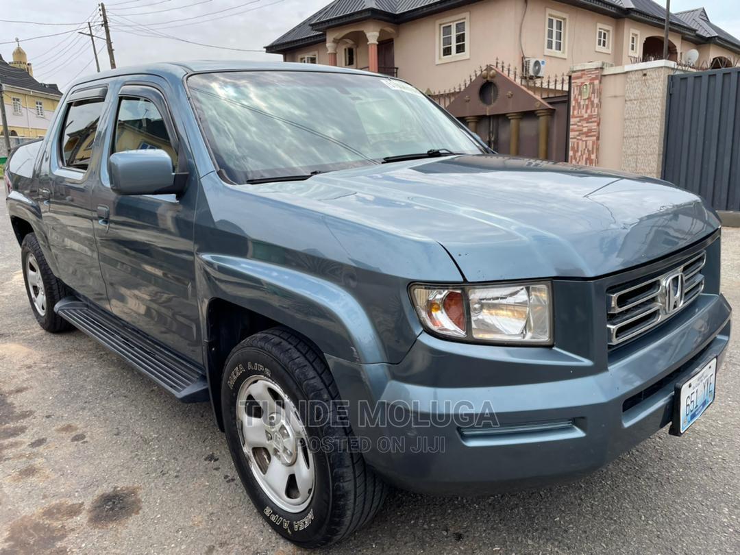 Honda Ridgeline 2006 Blue   Cars for sale in Agege, Lagos State, Nigeria