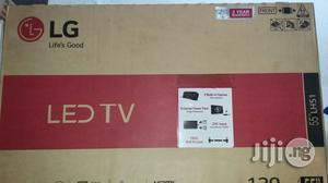 Brand New LG Led 55 Inches TV With 1year Warranty Sign   TV & DVD Equipment for sale in Lagos State, Ojo