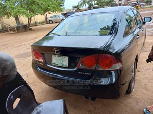 Honda Civic 2008 1.8i VTEC Automatic Black   Cars for sale in Lagos State, Ikorodu