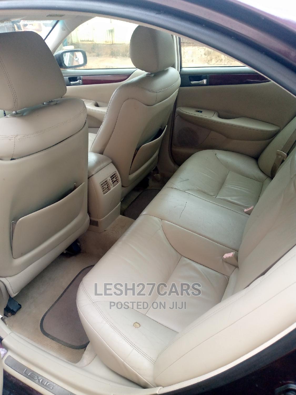 Archive: Lexus ES 2004 330 Sedan Purple