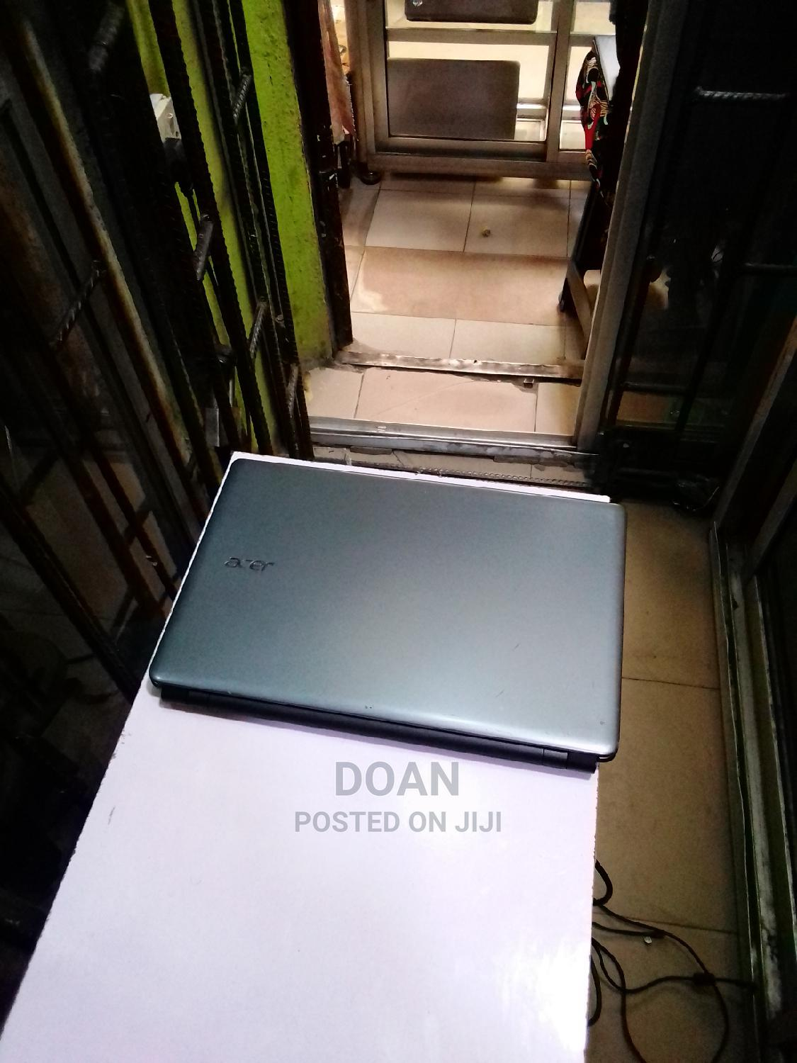 Laptop Acer Aspire E1-572g 4GB Intel Core I5 HDD 500GB   Laptops & Computers for sale in Ikeja, Lagos State, Nigeria