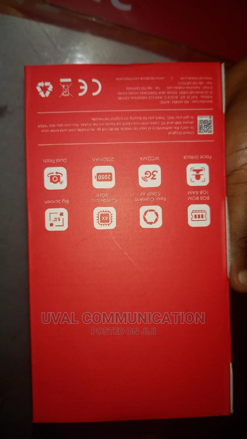 New Itel A16 Plus 8 GB Gold | Mobile Phones for sale in Ikeja, Lagos State, Nigeria