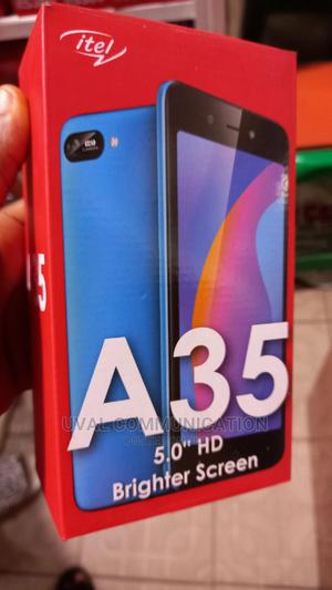 New Itel A35 16 GB Black | Mobile Phones for sale in Lagos State, Ikeja