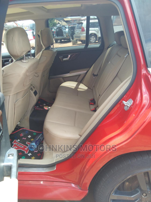 Archive: Mercedes-Benz GLK-Class 2010 350 4MATIC Red