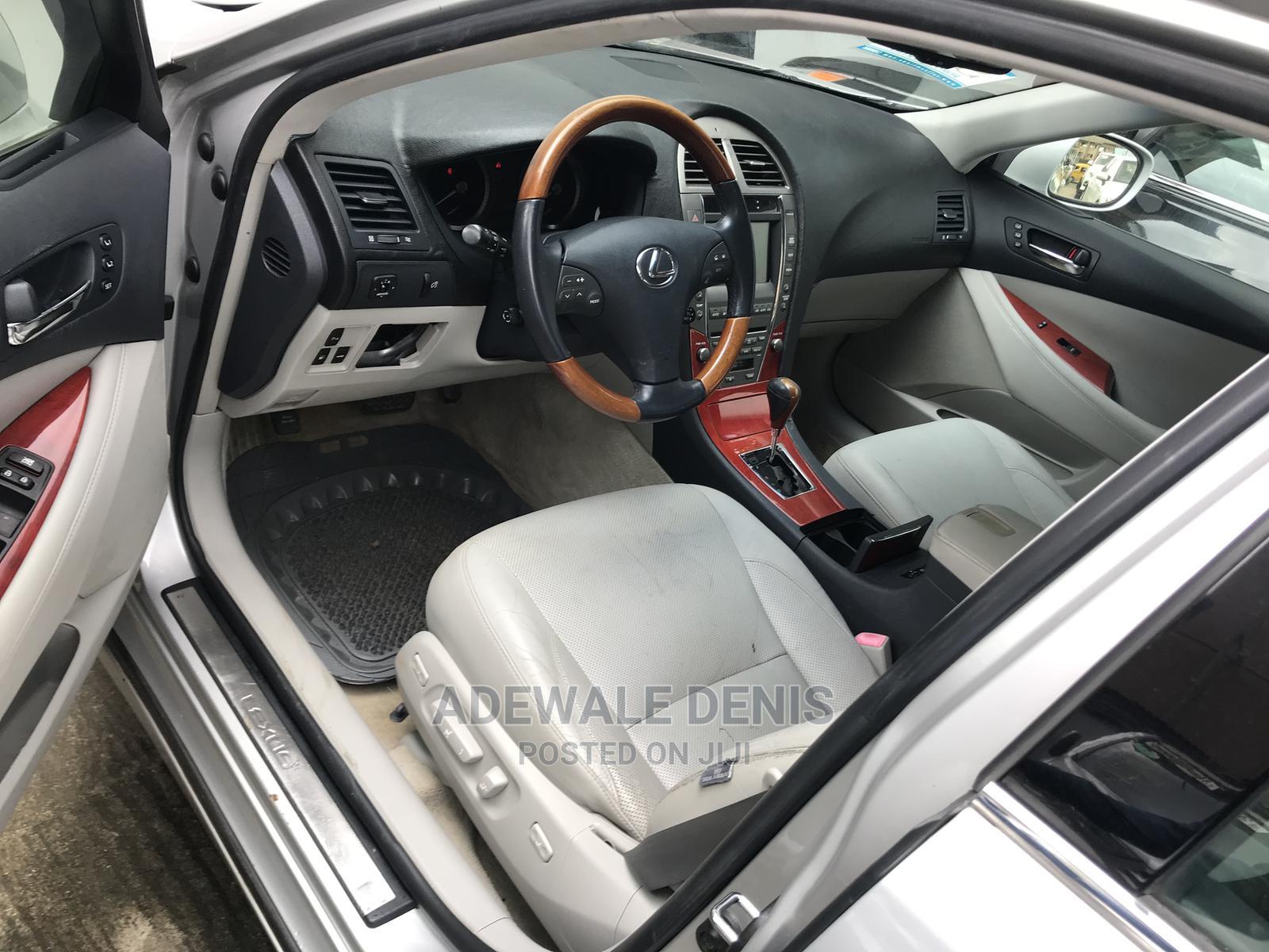Lexus ES 2007 350 Silver | Cars for sale in Lekki, Lagos State, Nigeria