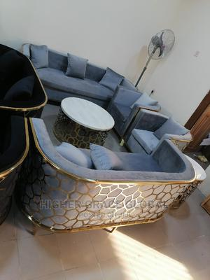Classic Sofa Chair With Matching Table Wit 2 Side Stool | Furniture for sale in Lagos State, Lekki