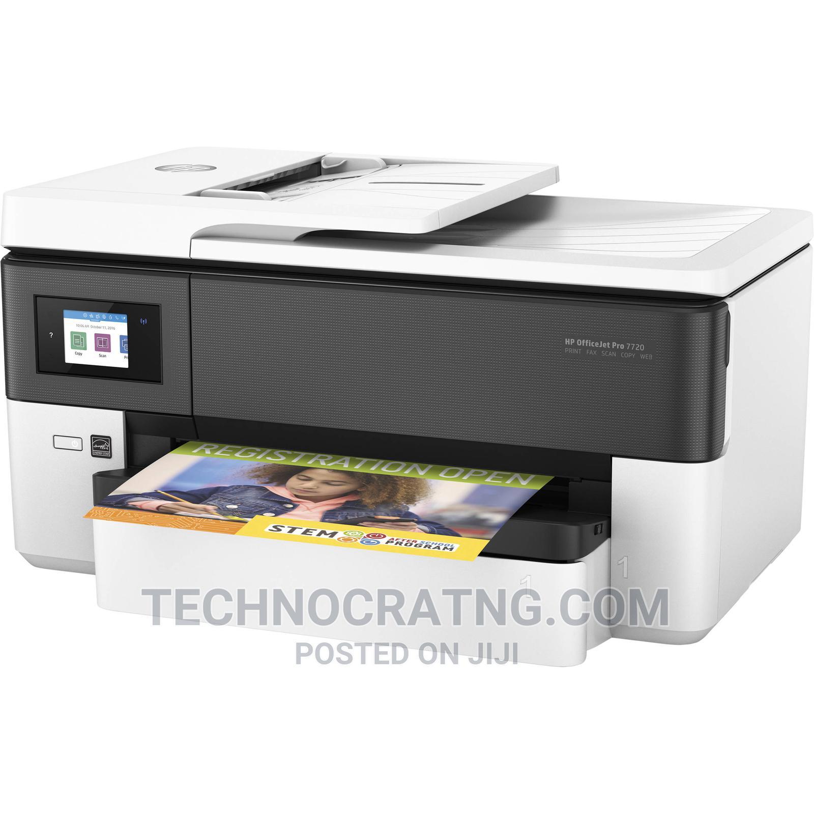 HP Officejet PRO 7720 Wide Format AIO Printer