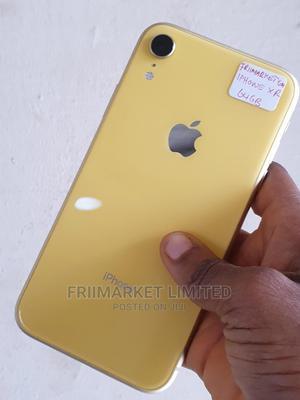 Apple iPhone XR 64 GB Yellow   Mobile Phones for sale in Edo State, Okada