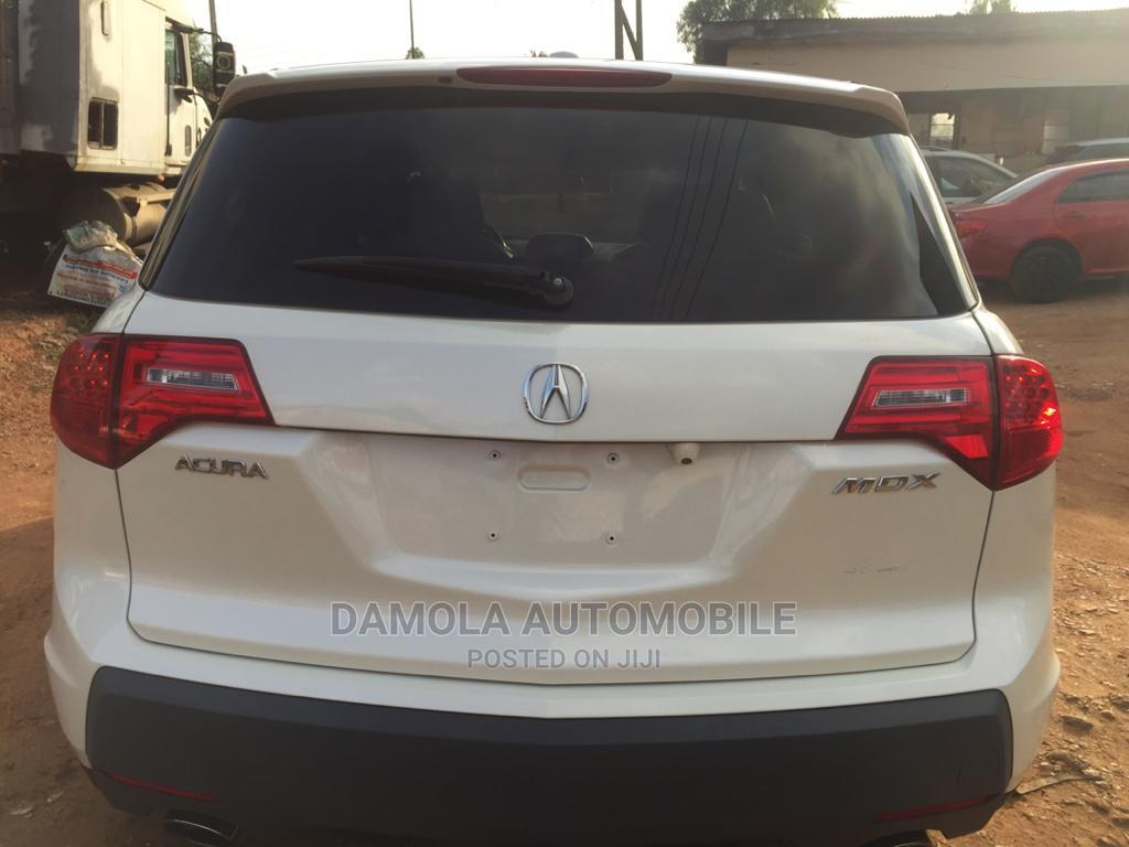 Acura MDX 2007 SUV 4dr AWD (3.7 6cyl 5A) White | Cars for sale in Ikeja, Lagos State, Nigeria