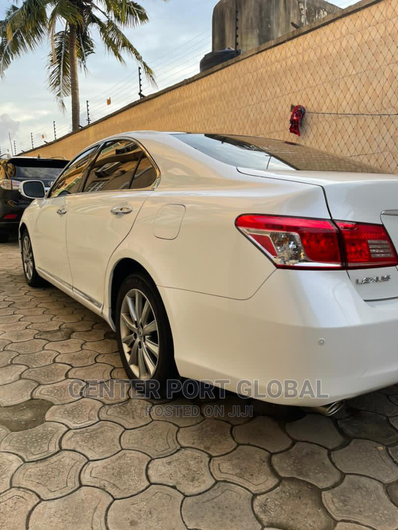 Lexus ES 2010 350 White | Cars for sale in Isolo, Lagos State, Nigeria
