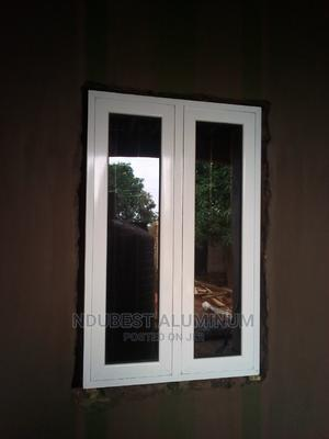 3 Fit by 5 Casement Windows With Protector   Windows for sale in Anambra State, Onitsha