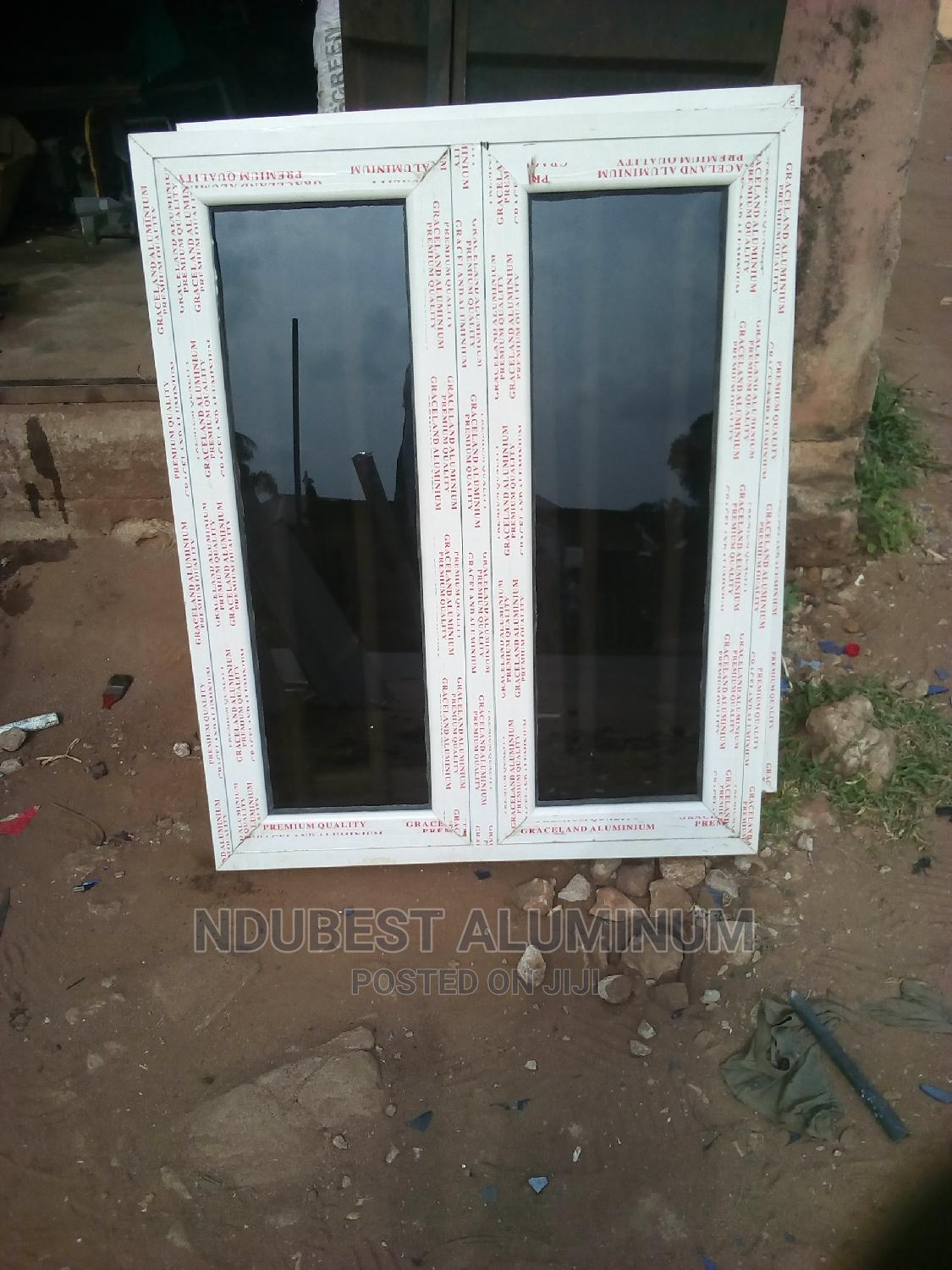4 Fit by 4 Fit Casement Windows With White Protector | Windows for sale in Onitsha, Anambra State, Nigeria