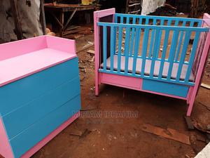 Baby Cot and Cupboard   Children's Furniture for sale in Rivers State, Obio-Akpor