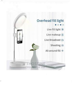 Desktop Mobile Phone Ring Light | Accessories & Supplies for Electronics for sale in Lagos State, Ikeja