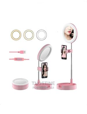 Dimmable Stretchable Desktop Selfie Ring Light | Accessories & Supplies for Electronics for sale in Lagos State, Ikeja