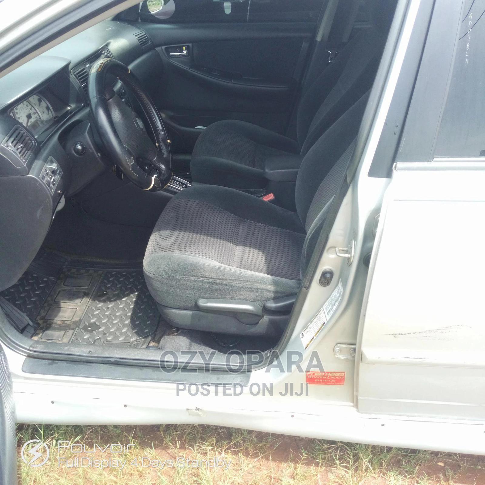 Archive: Toyota Corolla 2007 S Silver