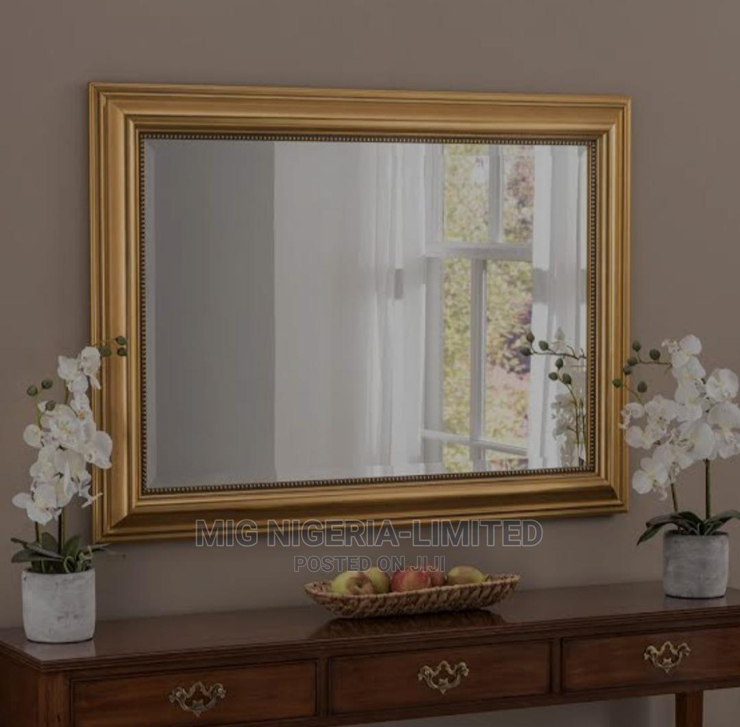 Wall Gold Mirror