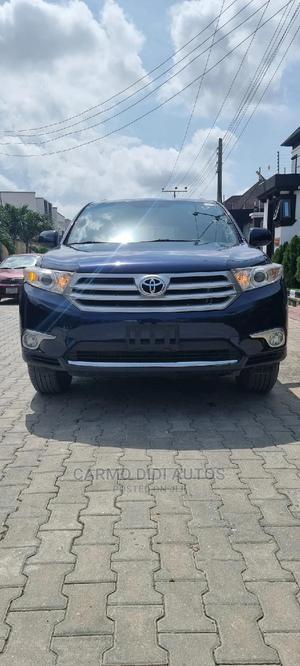 Toyota Highlander 2011 SE Blue | Cars for sale in Lagos State, Lekki