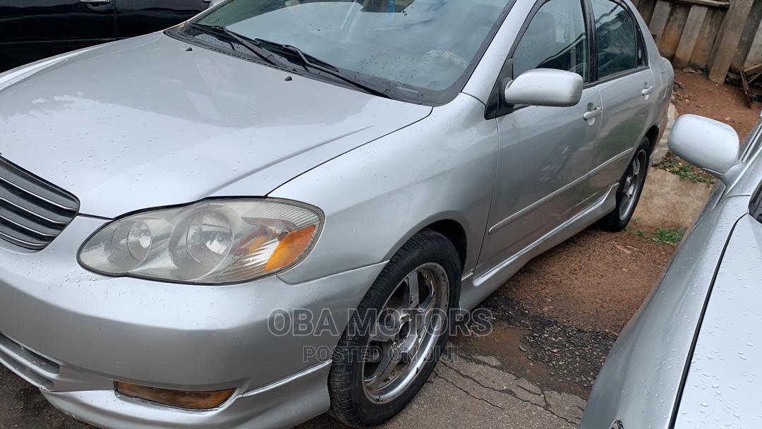 Archive: Toyota Corolla 2004 S Silver