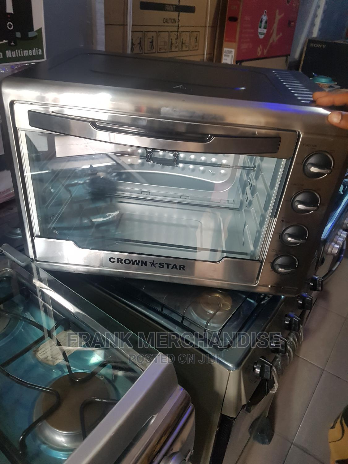 CROWN*STAR 60litters Electric Oven 100%Copper