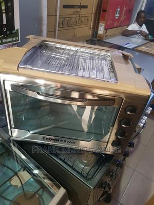 CROWN*STAR 60litters Electric Oven 100%Copper 2years Warrant   Kitchen Appliances for sale in Lagos State, Amuwo-Odofin