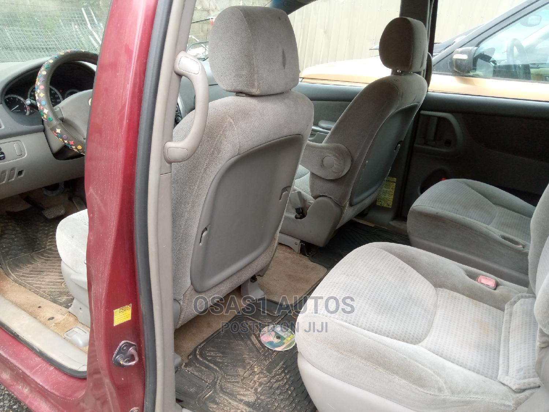 Toyota Sienna 2006 Red   Cars for sale in Ojodu, Lagos State, Nigeria