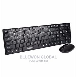 Havit Hv-K51t Ultra-Thin Wireless Keyboard Mouse Combo Set | Computer Accessories  for sale in Lagos State, Ikeja