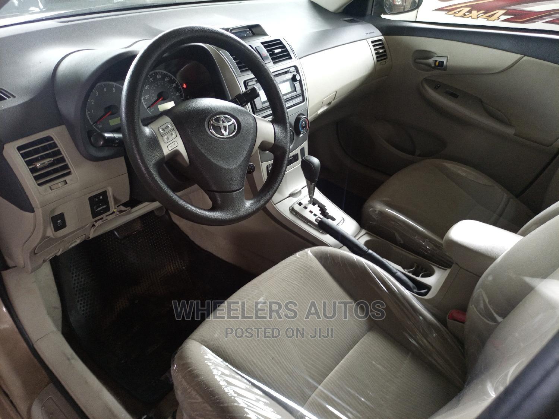 Toyota Corolla 2013 Gold | Cars for sale in Amuwo-Odofin, Lagos State, Nigeria