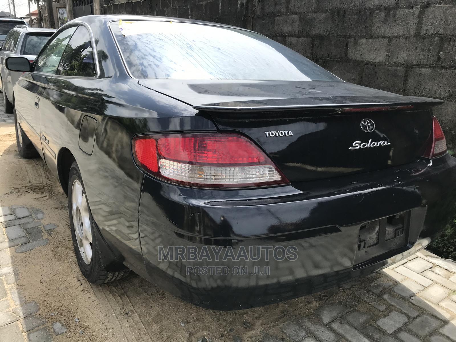 Toyota Solara 2004 Black   Cars for sale in Lekki, Lagos State, Nigeria