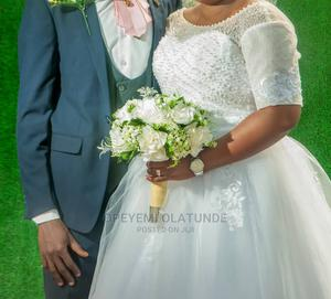 Beautiful Ball Wedding Gown for Sale   Wedding Wear & Accessories for sale in Abuja (FCT) State, Dutse-Alhaji