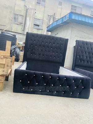 4/By6 Upholstery Bed Frame | Furniture for sale in Lagos State, Ikeja