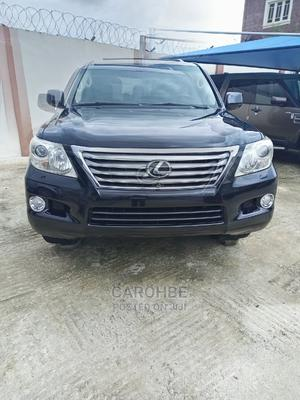 Lexus LX 2012 570 Black | Cars for sale in Lagos State, Surulere