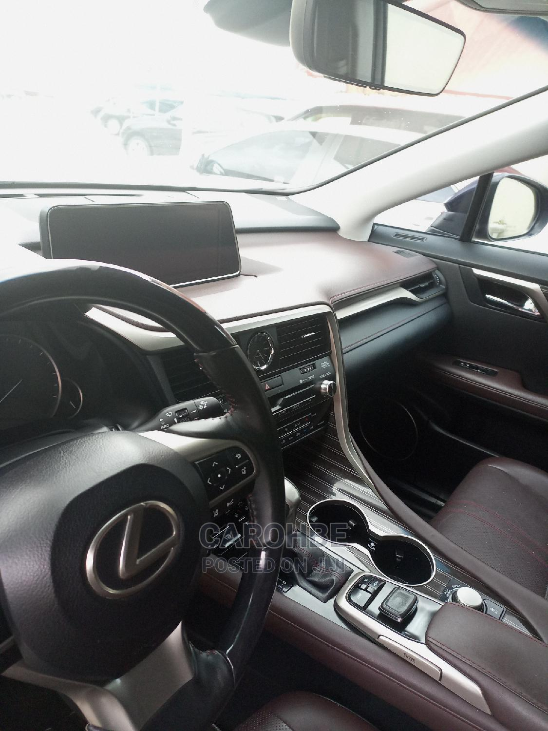 Lexus RX 2016 Blue   Cars for sale in Surulere, Lagos State, Nigeria