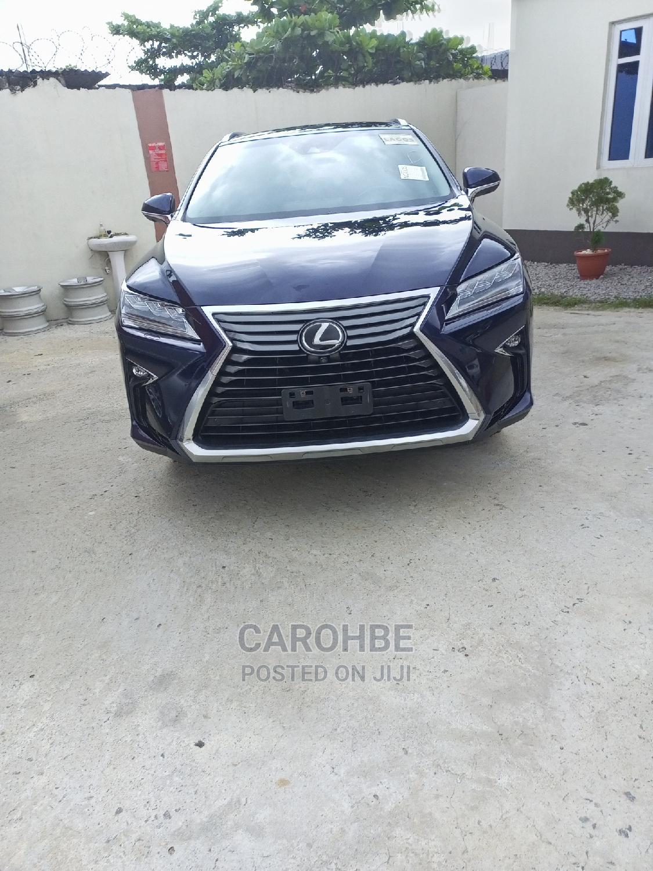 Lexus RX 2016 Blue