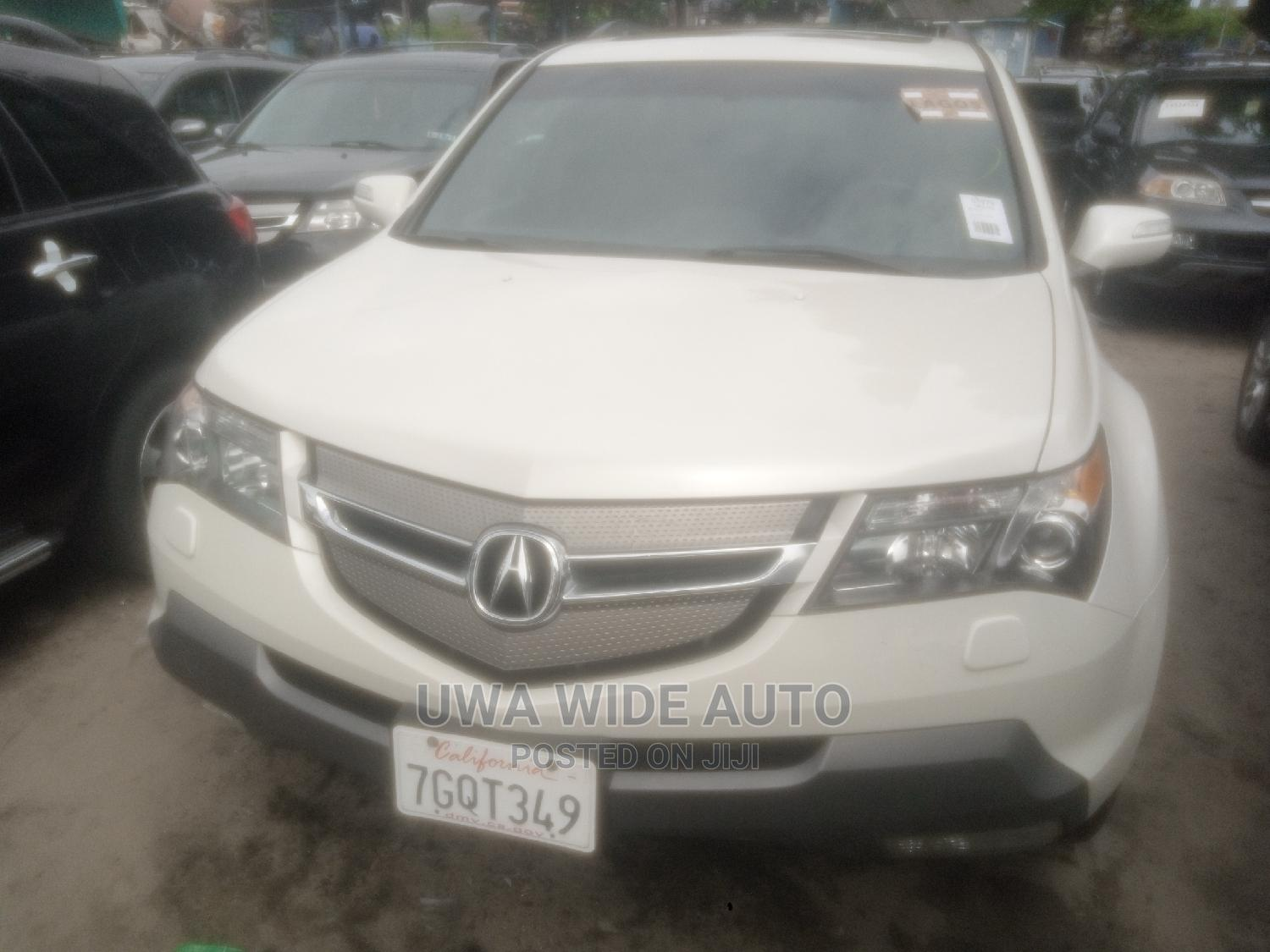 Archive: Acura MDX 2007 SUV 4dr AWD (3.7 6cyl 5A) White