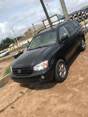 Toyota Highlander 2005 V6 4x4 Black   Cars for sale in Edo State, Benin City