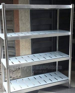 Stainless Steel Shelf Rack   Store Equipment for sale in Lagos State, Amuwo-Odofin