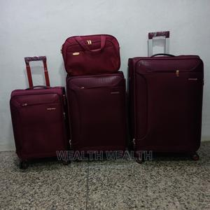 Quality Swiss Polo Trolley Luggage Oxblood Red Bag   Bags for sale in Lagos State, Ikeja