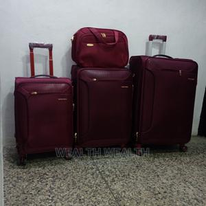 Executive Swiss Polo Trolley Luggage Oxblood Red Bag   Bags for sale in Lagos State, Ikeja