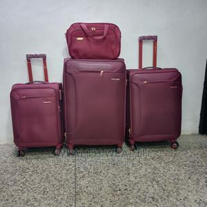 Advanced Quality Swiss Polo Trolley Luggage Oxblood Red Bag   Bags for sale in Lagos State, Ikeja