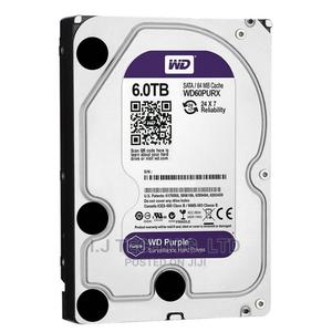 WD 6tb Surveillance Hard Drive   Computer Hardware for sale in Lagos State, Ikeja