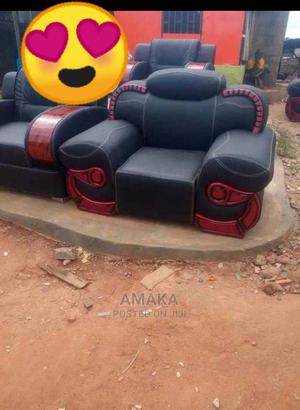 Sofa Chair With Interior Leather   Furniture for sale in Lagos State, Ikorodu