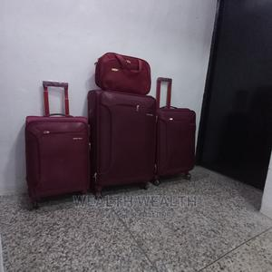 Zippered Swiss Polo Trolley Luggage Oxblood Red Bag   Bags for sale in Lagos State, Ikeja